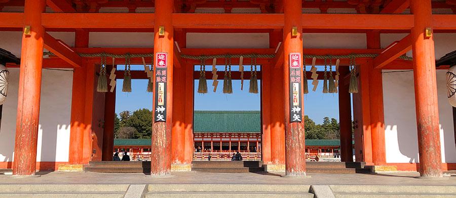 京都平安神宮の風景