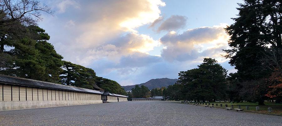 京都御苑の風景
