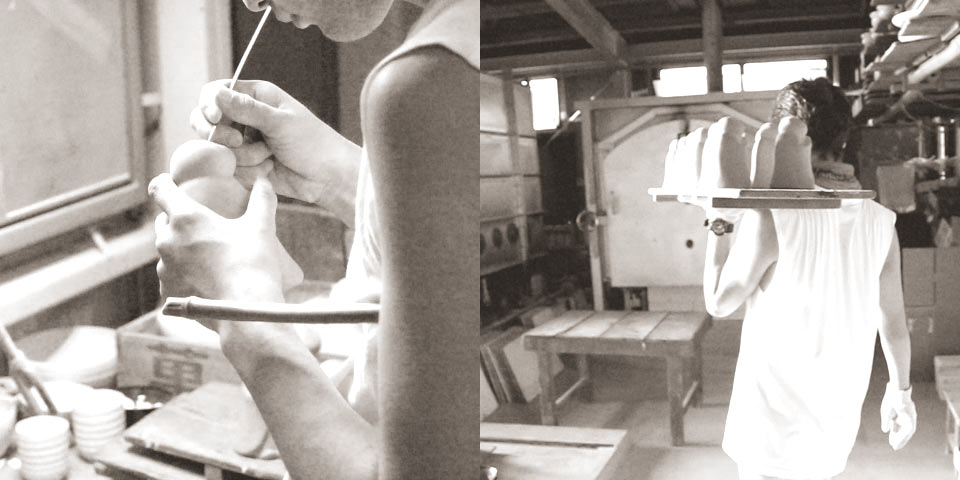 瑞光窯の職人