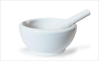 粉骨用の乳鉢
