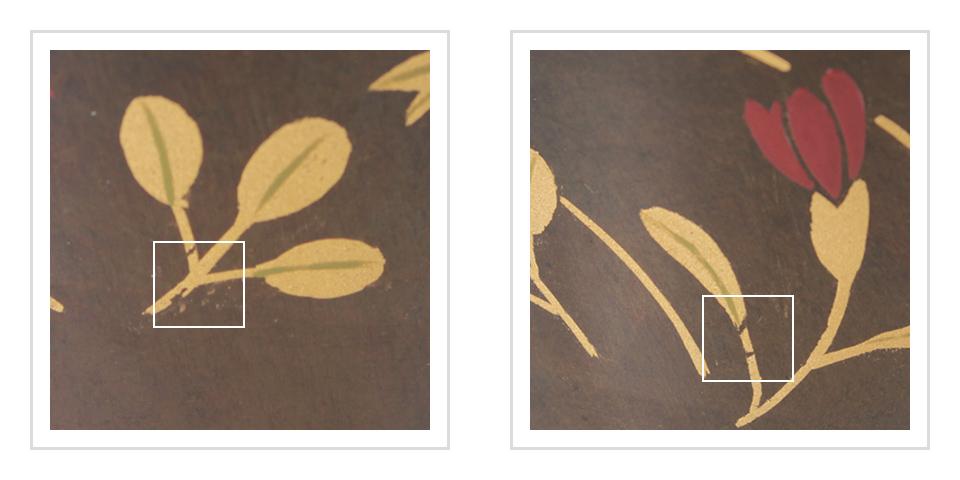 ミニ骨壷なごみ漆、秋の七草の注意事項