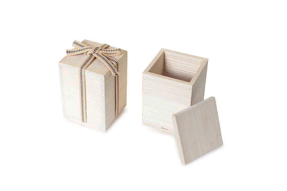 ミニ骨壷なごみ漆、秋の七草の専用桐箱