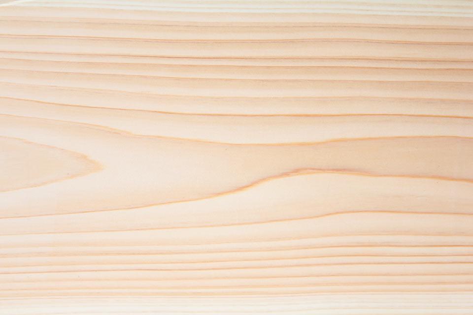 手元供養のひのきの台と写真台の木目
