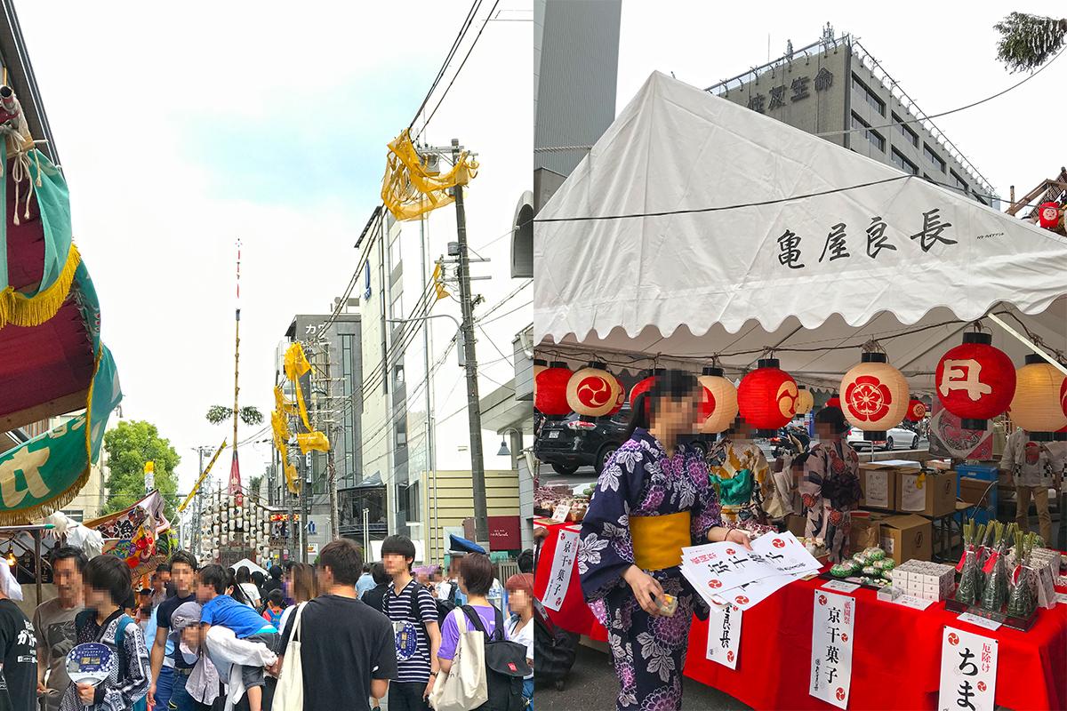 祇園祭の風景