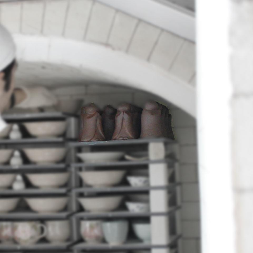 手元供養の地蔵は瑞光窯で作られています