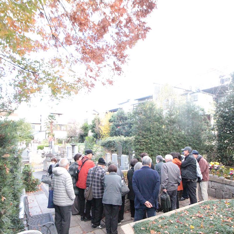 両足院のお墓の悩み解決セミナー見学